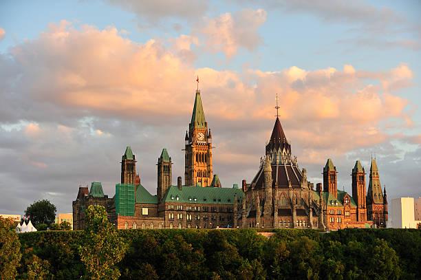 Parlamentsgebäude in Ottawa, Onratio – Foto
