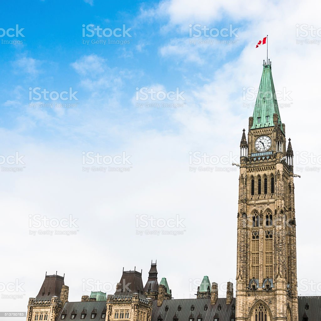parliament building in ottawa stock photo
