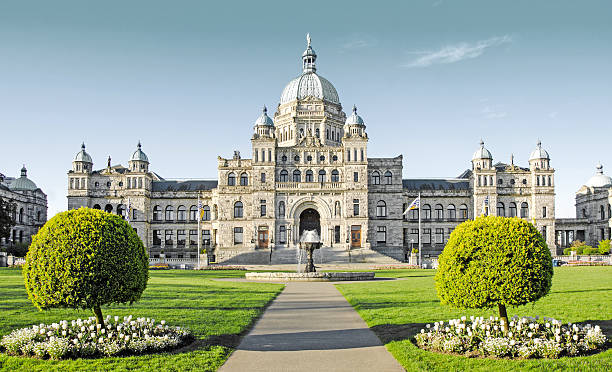 Parliament Building in Victoria, British Columbia Parliament Building in Victoria, British Columbia vancouver island stock pictures, royalty-free photos & images