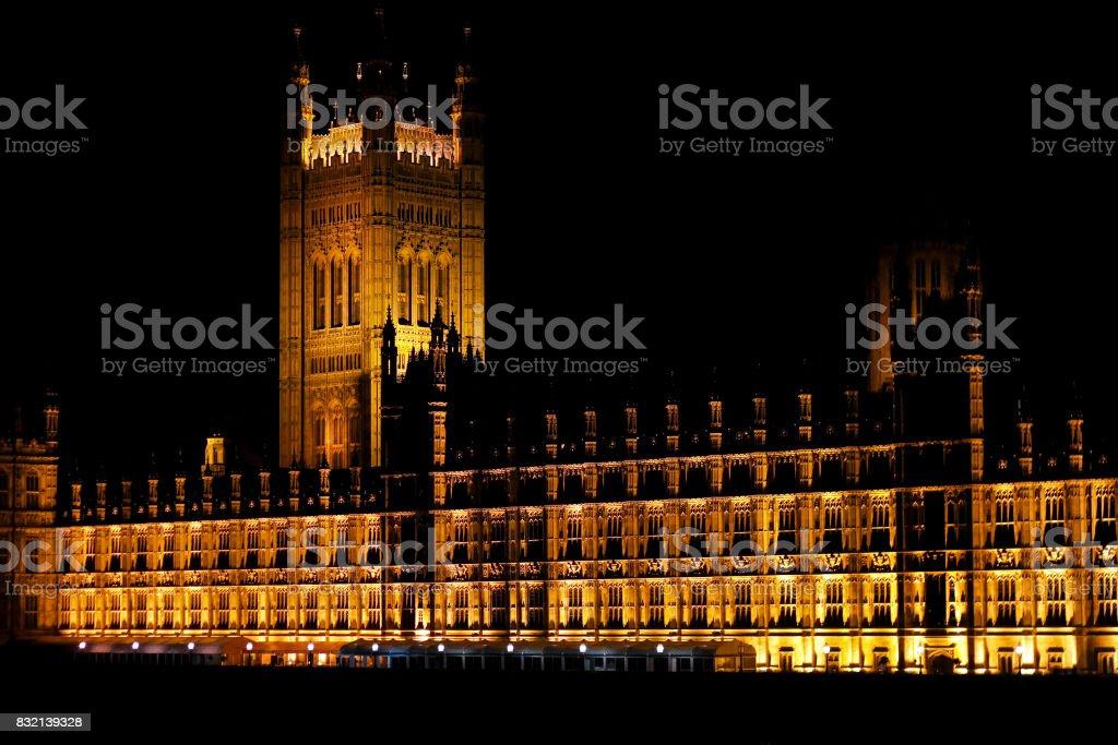 Parliament building stock photo