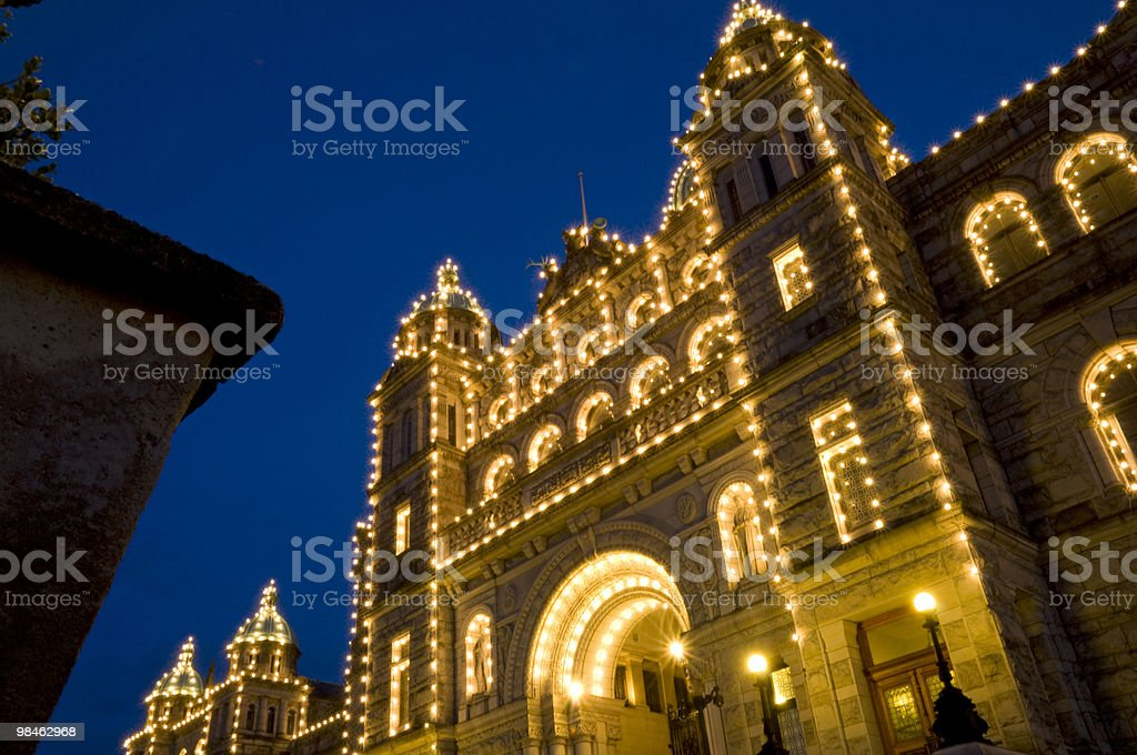 Parliament Building, Victoria, BC, Canada royalty-free stock photo
