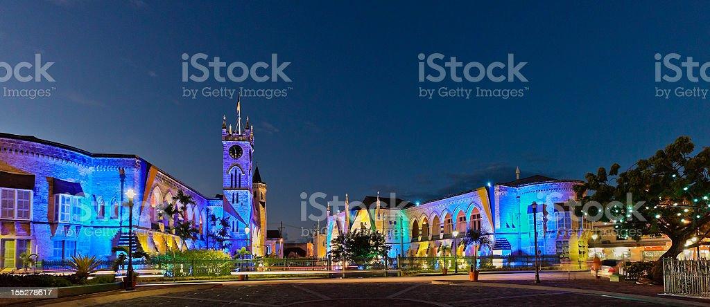 Edifícios do Parlamento, Bridgetown, Barbados - foto de acervo