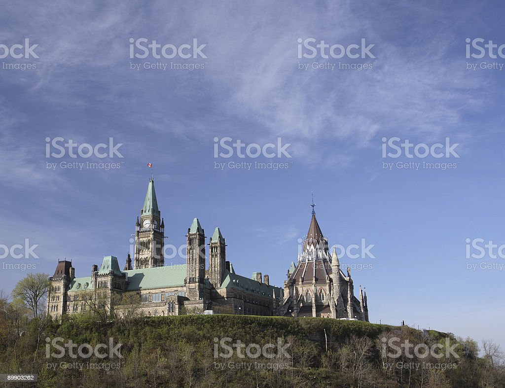 Parliament Hill - East Side royalty-free stock photo