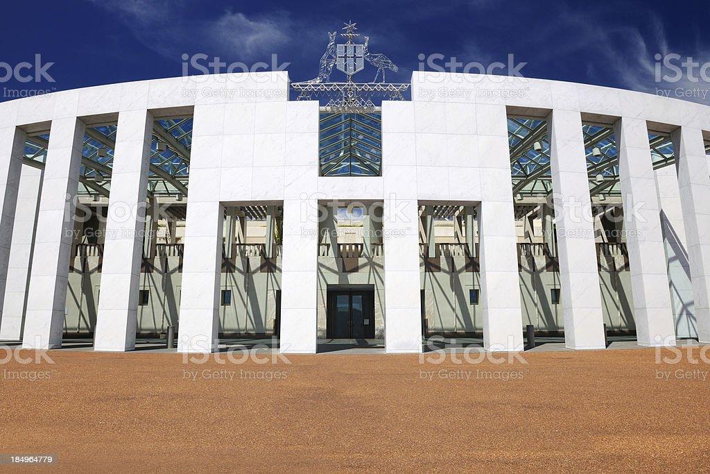Parliament House Courtyard, Canberra, Australia (XXXL) stock photo