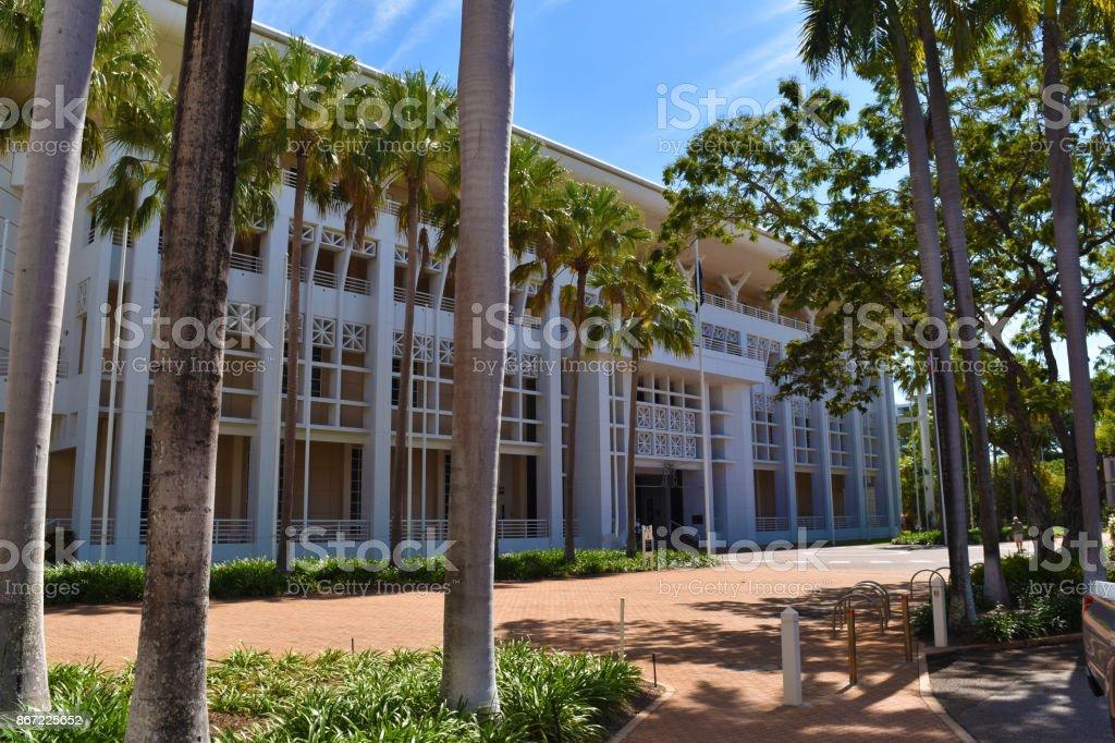 Parliament house in Darwin, Australia. stock photo