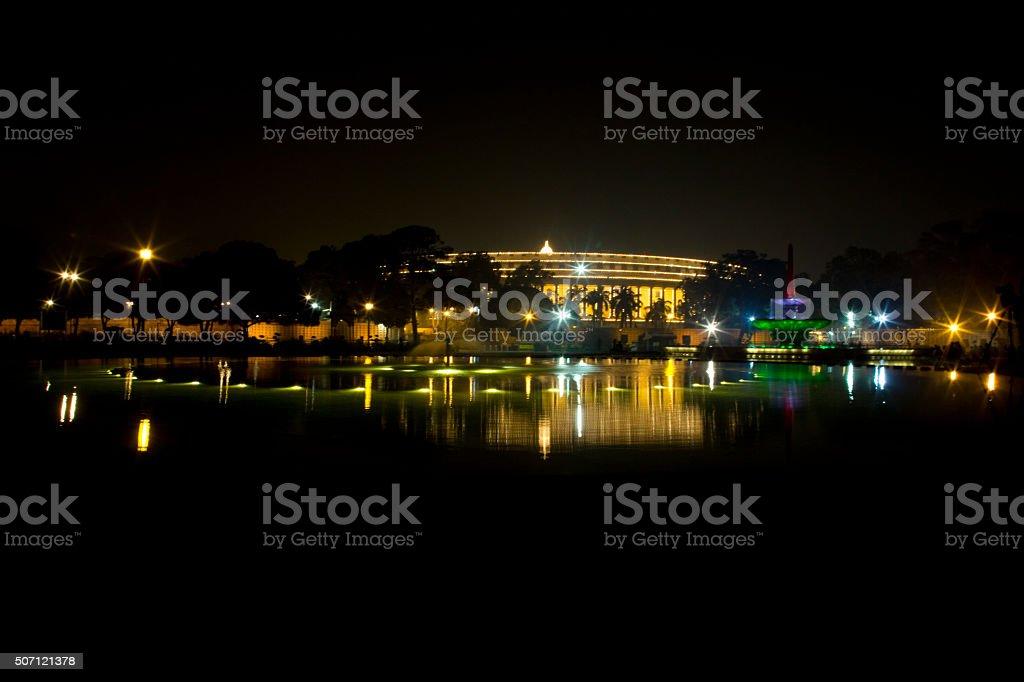 Parliament House, New Delhi, India stock photo