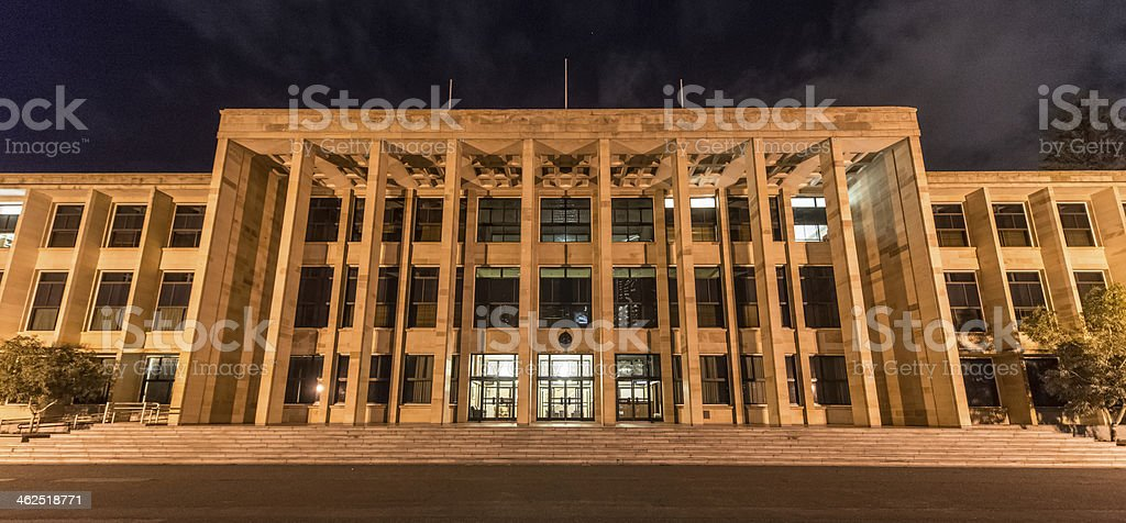 Parliament House, Perth stock photo