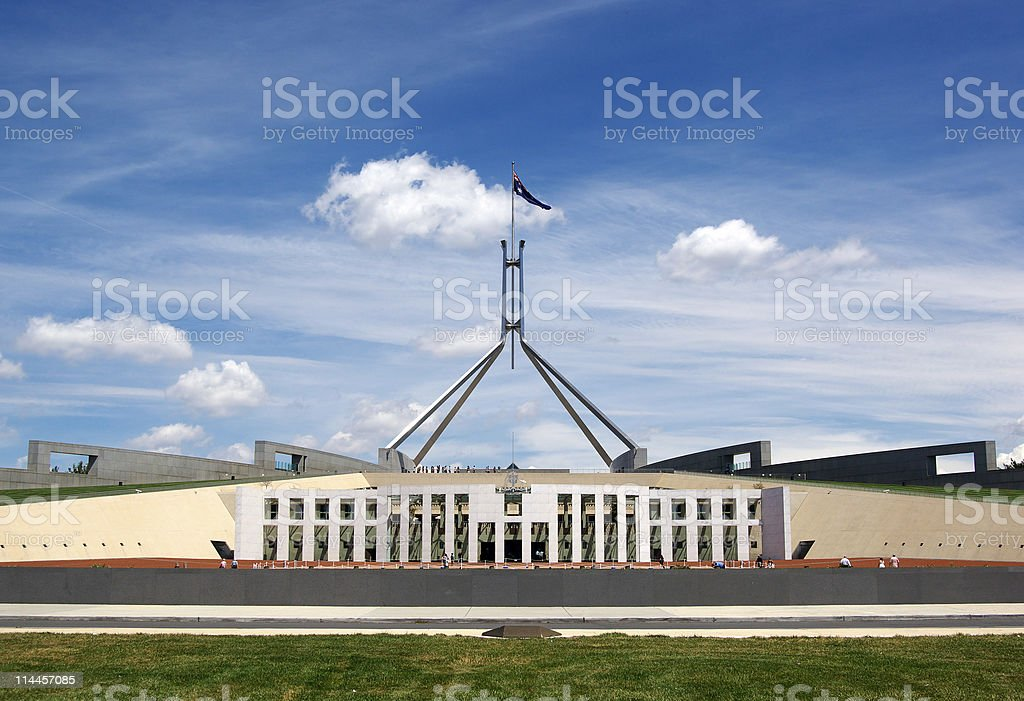 parliament house royalty-free stock photo