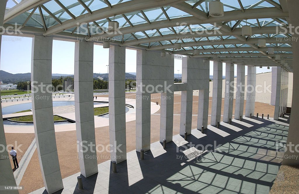 Parliament house stock photo