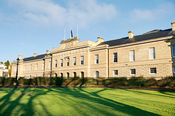 parliament house - tasmania stock pictures, royalty-free photos & images