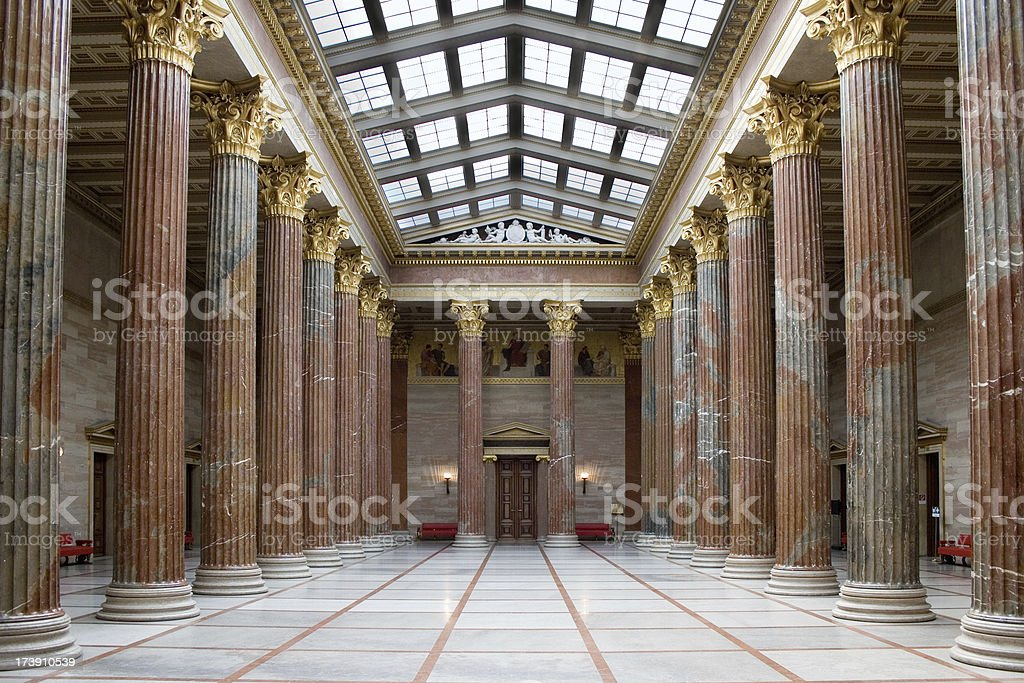 Parliament of Austria royalty-free stock photo