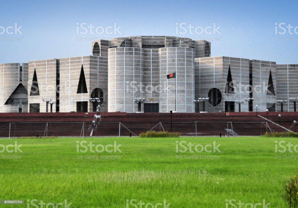 Parlamento de Bangladesh, Dhaka (Asamblea Nacional) - foto de stock