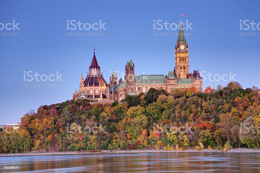 Parlamento de Canadá - foto de stock