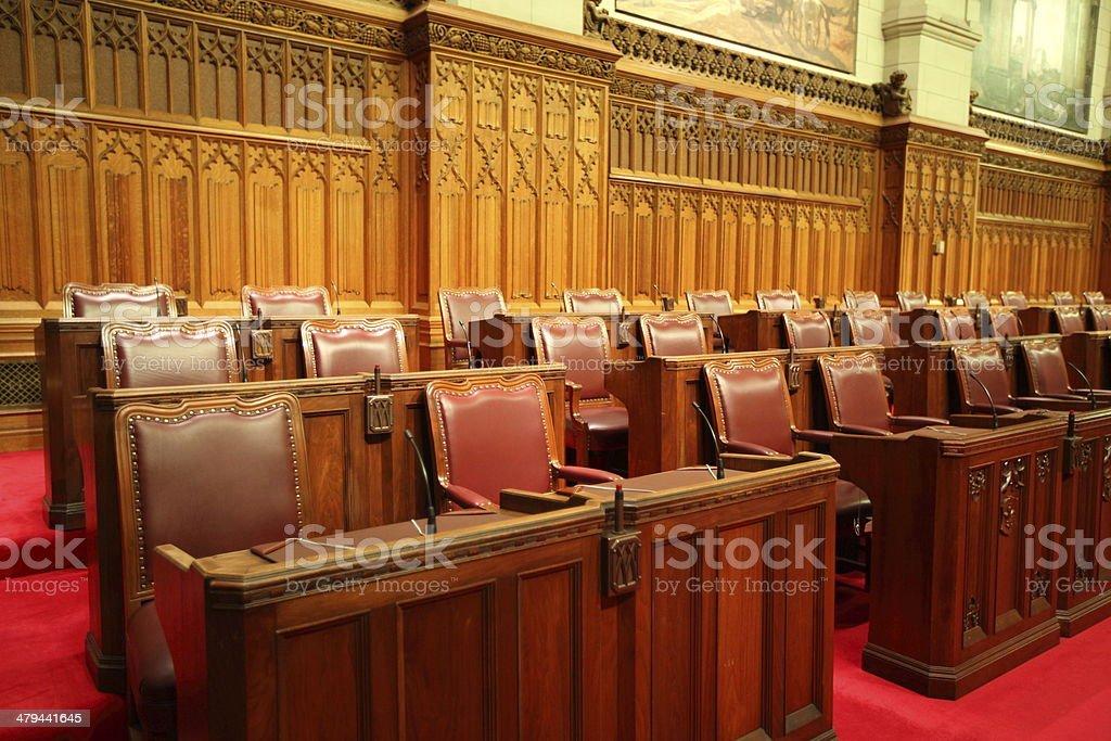 Parliament of Canada - Senate stock photo