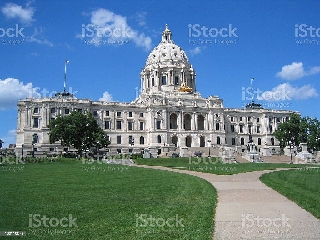 Parliament of Minnesota in Minneapolis stock photo