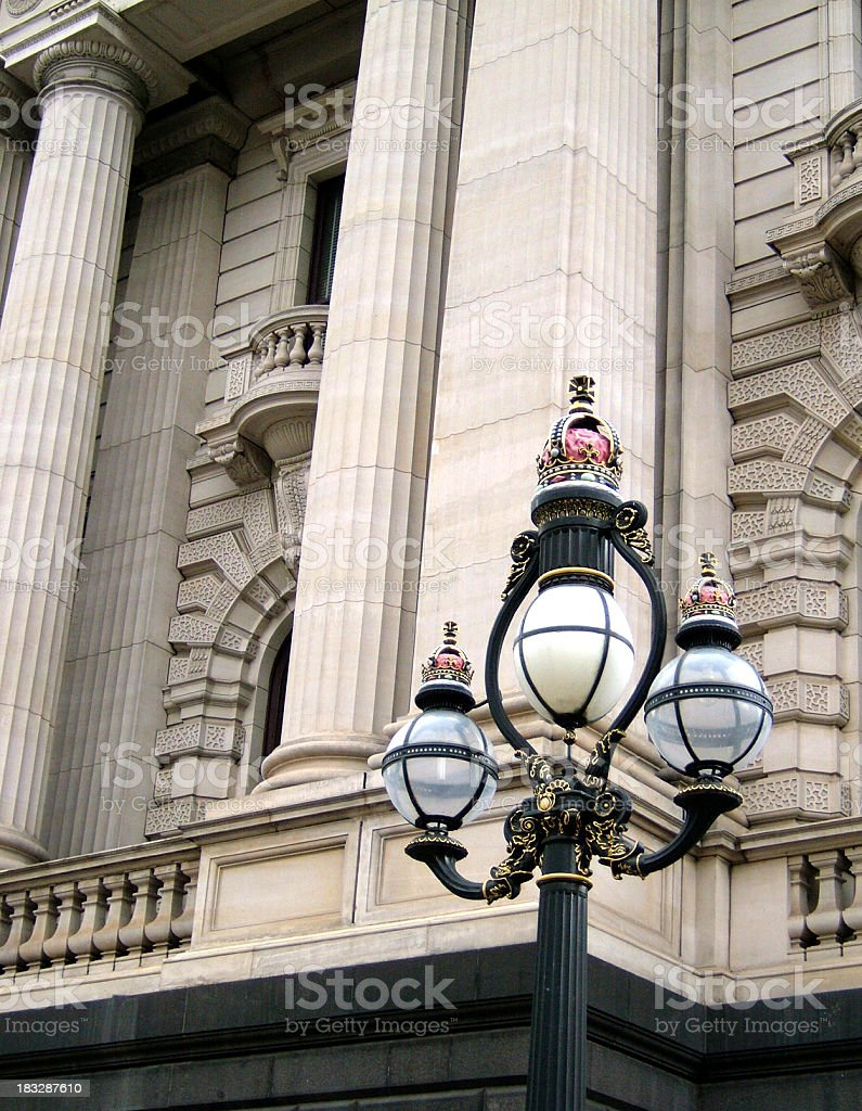 Parliament of Victoria royalty-free stock photo