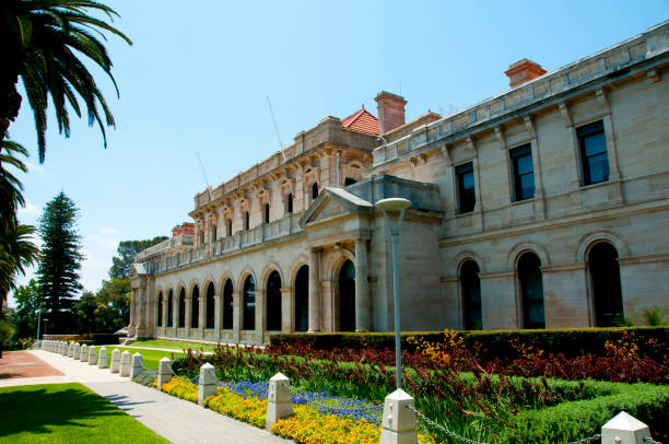 Parliament of Western Australia stock photo