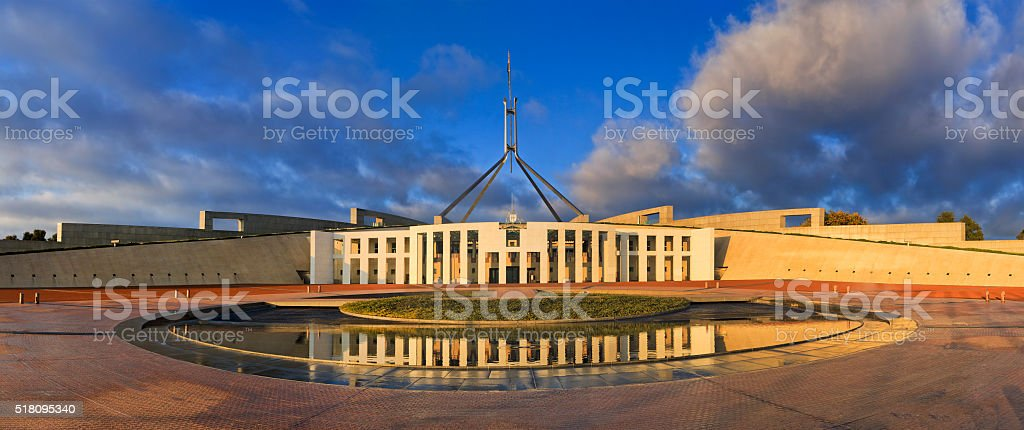 CAN Parliament Rise vert pan stock photo