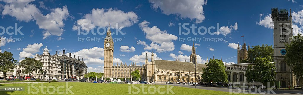 Parliament Square London royalty-free stock photo