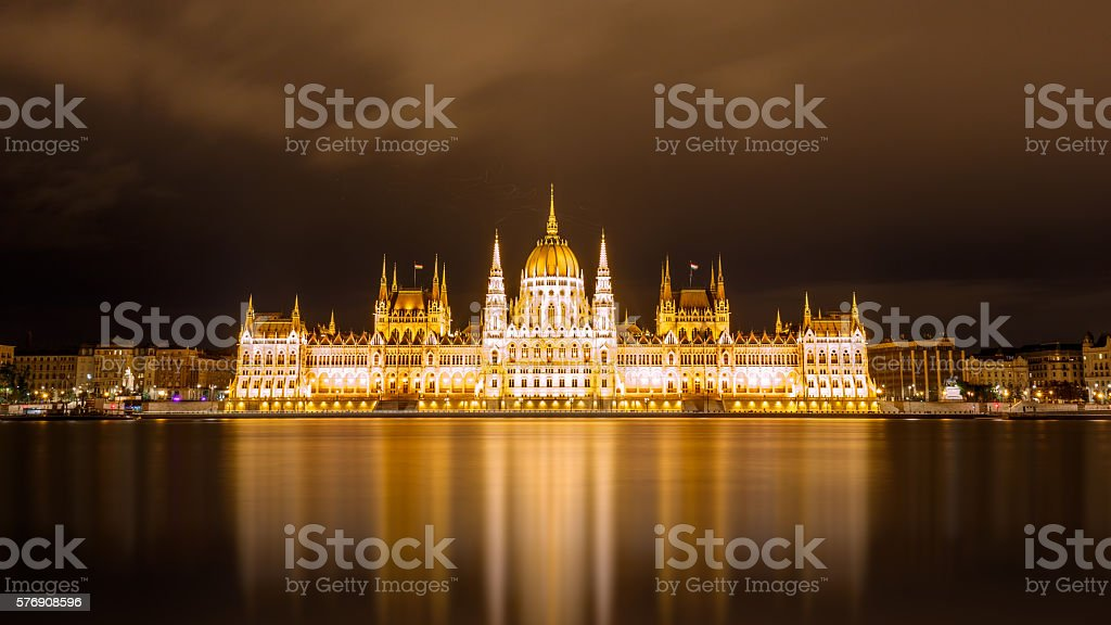 Parliament,Budapest stock photo