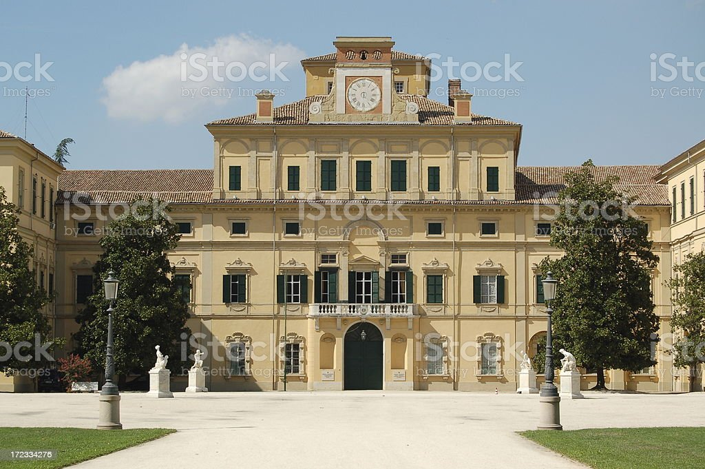 Palazzo Ducale parma royalty-free stock photo
