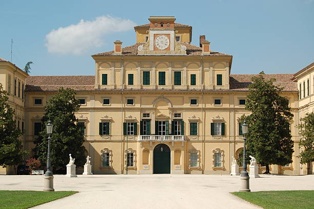 Palazzo Ducale parma stock photo