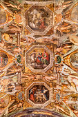 Rome, Italy - June 12, 2015: The church of Sant'Agnese in Agone is one of the most visited churches in Rome due to its central position in the famous Piazza Navona.'n