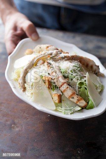 istock Parmesan chicken lettuce salad 857595968