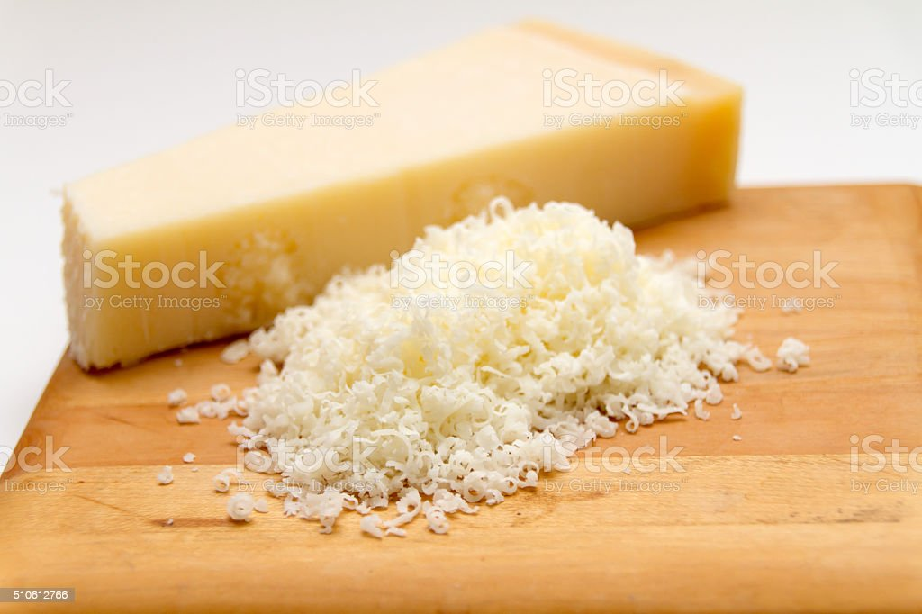 Parmesan stock photo