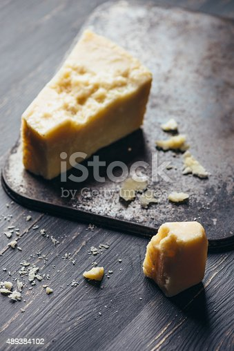 Parmesan, Typical Italian Cheese - Studio Macro Shooting