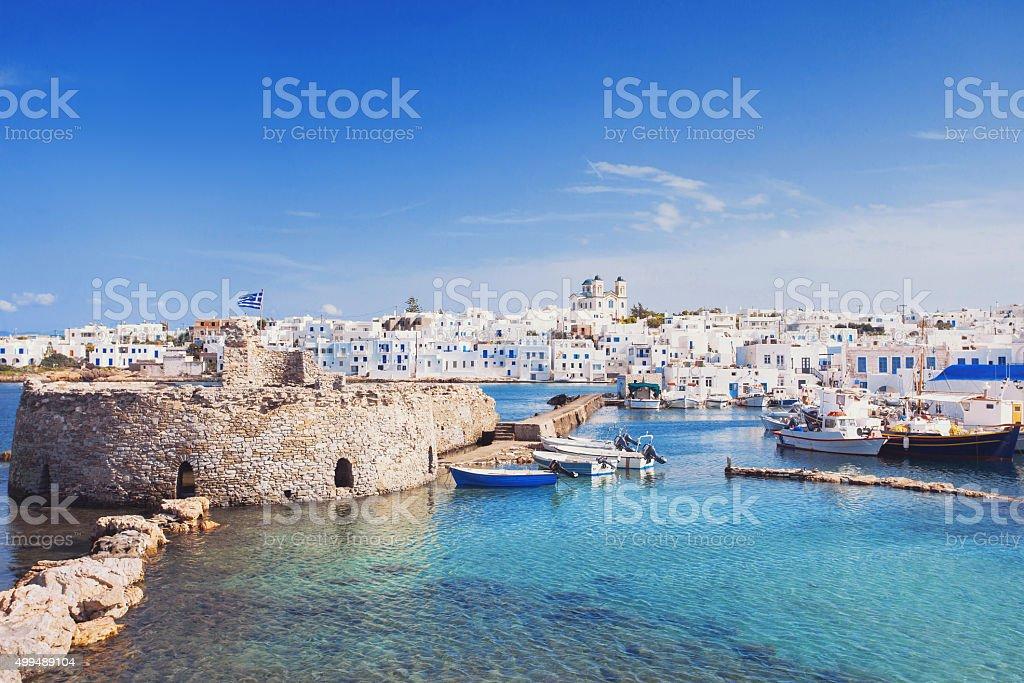 Islas cícladas Paros, Grecia, - foto de stock