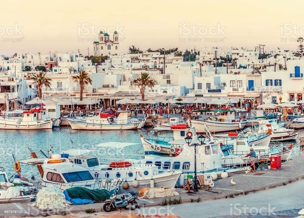 Paros Island stock photo