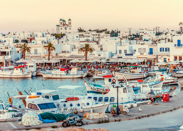 Paros Island stock photo