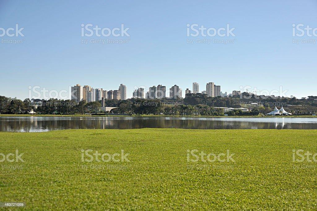 Parque Barigui Curitiba stock photo