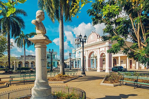 Parque Marti in Cienfuegos in Kuba – Foto