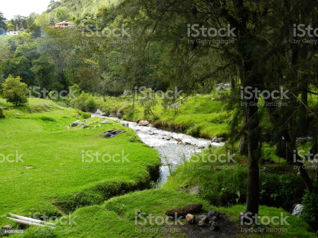 Parque Nacional Sierra Nevada Venezuela stock photo