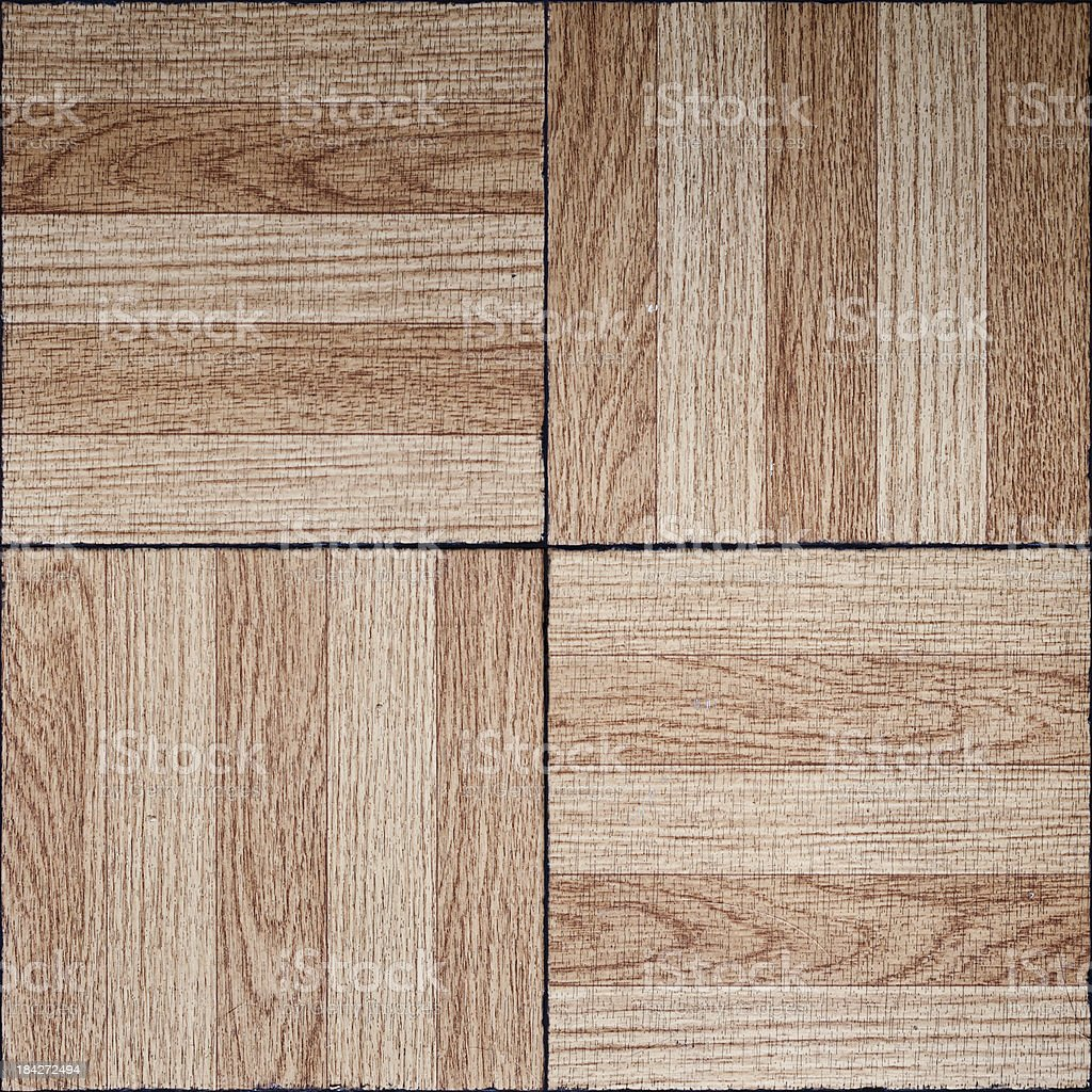 Parquet Floor Board Background Tile (Seamless In All Directions) royalty-free stock photo