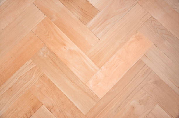 Parquet Oak Solid Wood Flooring Stock Photo More Pictures Of