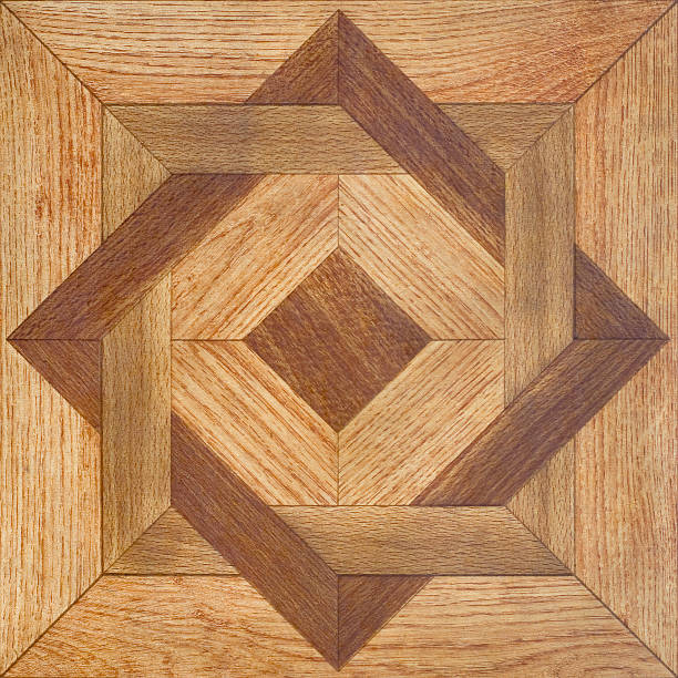 Parquet Texture of a floor covering, wooden parquet inlay stock pictures, royalty-free photos & images