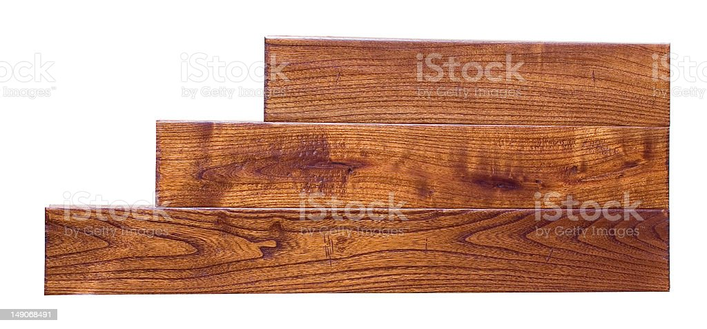 parquet with clipping path royalty-free stock photo