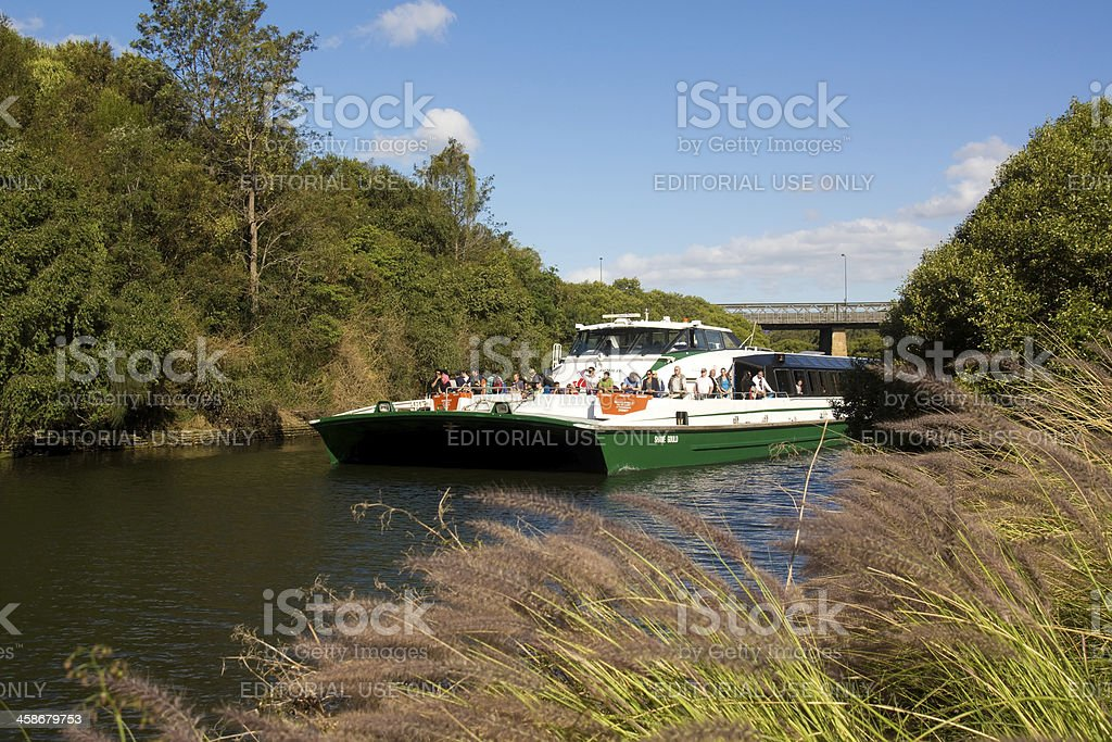 Parramatta River Ferry stock photo