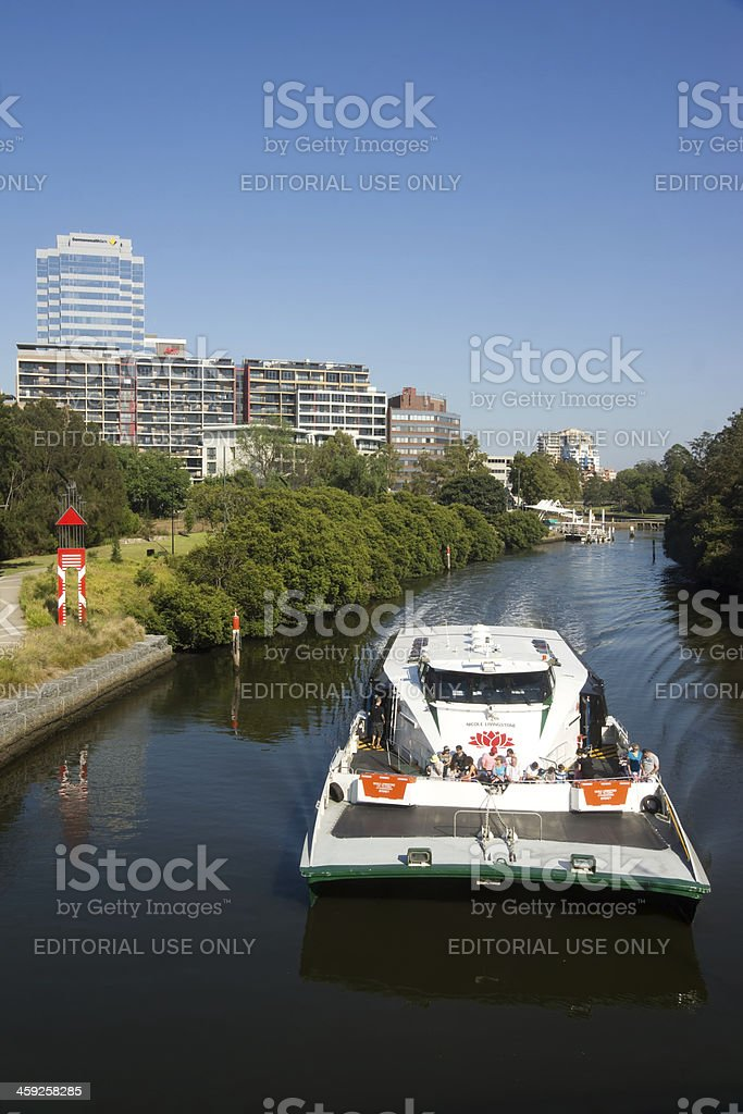 Parramatta River Ferry royalty-free stock photo