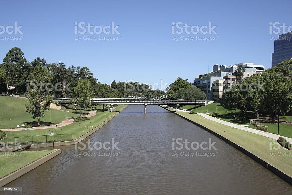 Parramatta River Walk stock photo