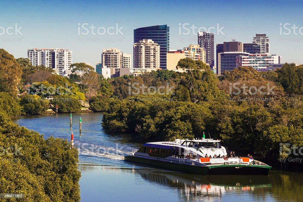 Parramatta Skyline stock photo