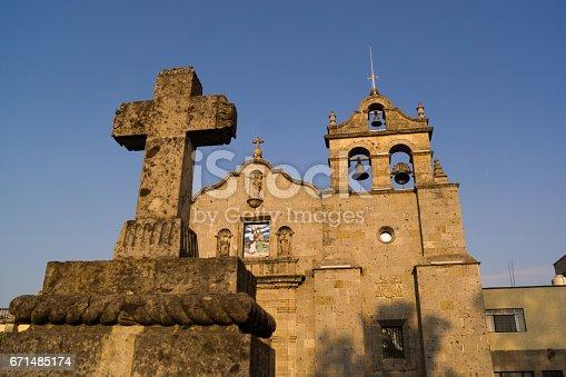 Parroquia San Pedro San Peter Church Zapopan Guadalajara mexico downtown