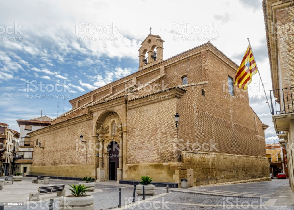 parroquilal Church of Our Lady of Hope in Calanda province of Teruel