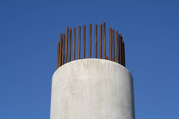 Part built reinforced concrete column