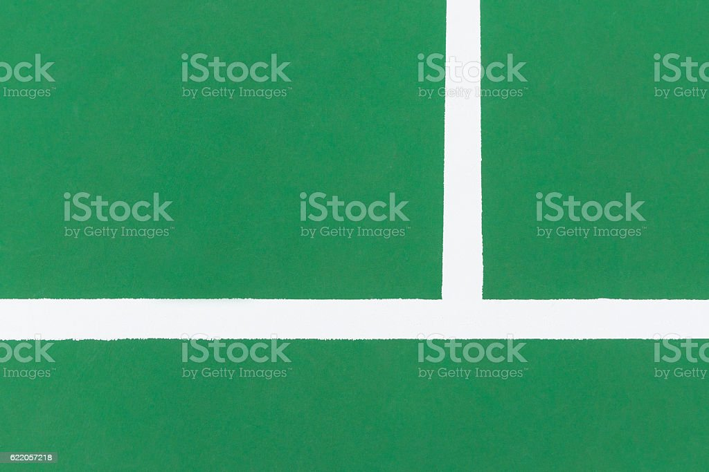 part of a basketball court or badmintor court stock photo