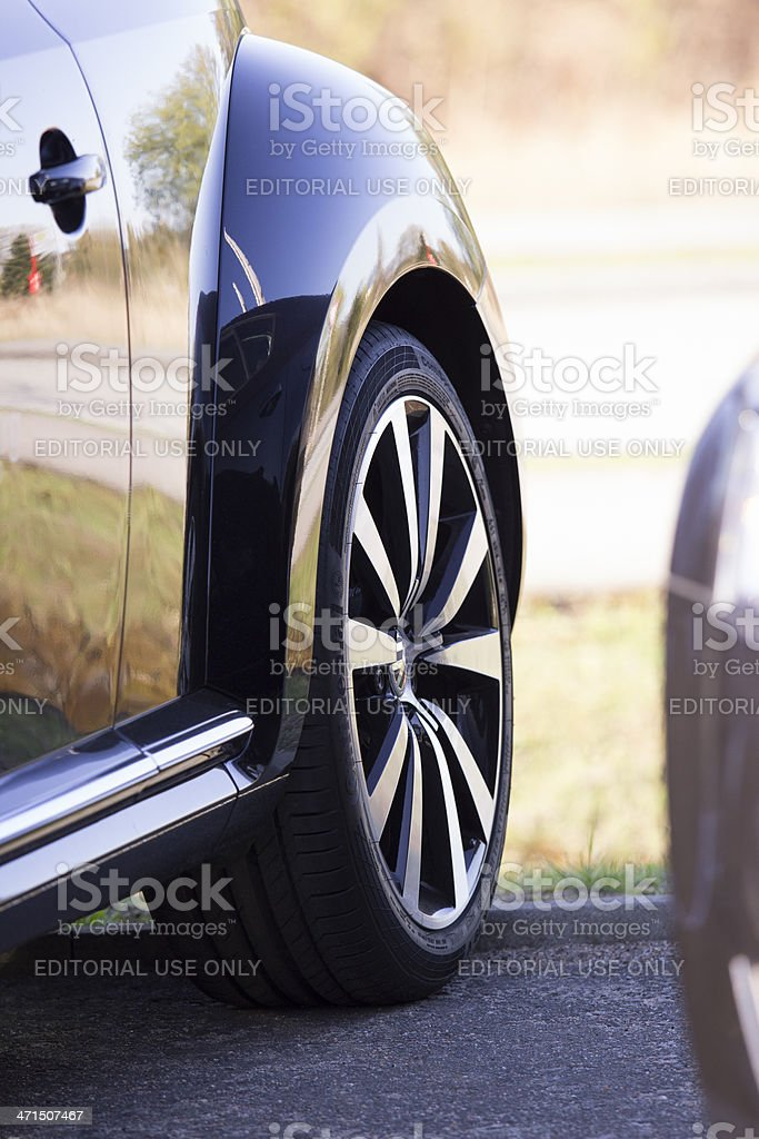 Part of a VW beetle royalty-free stock photo