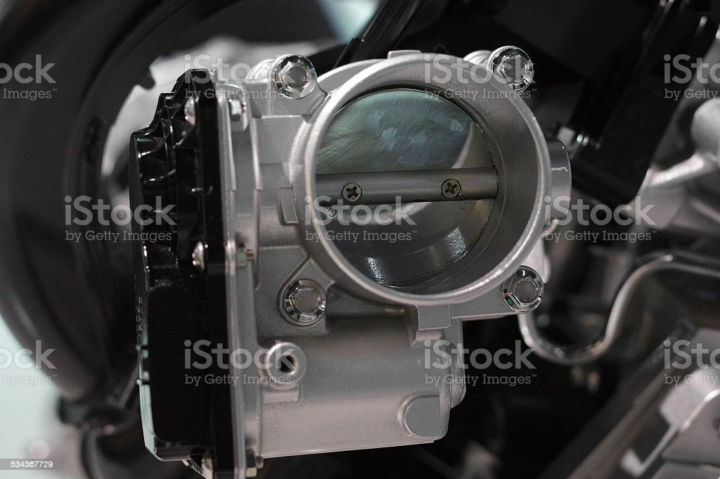 part of an engine stock photo